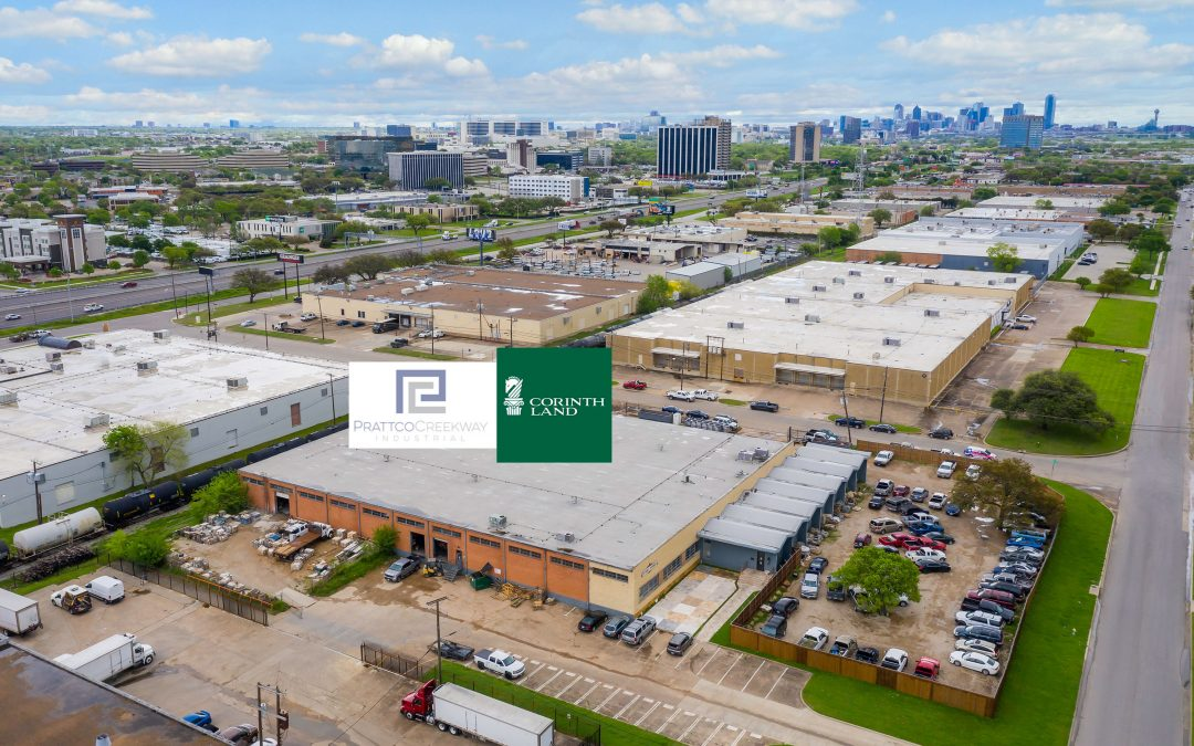 Corinth Land Co. and Prattco Creekway Industrial Acquire Two Industrial Properties in Dallas and Arlington, and Refinance Six Joint Venture Properties